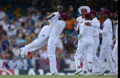 England bundled out for 77, West Indies boosted by inspirational Kemar Roach spell
