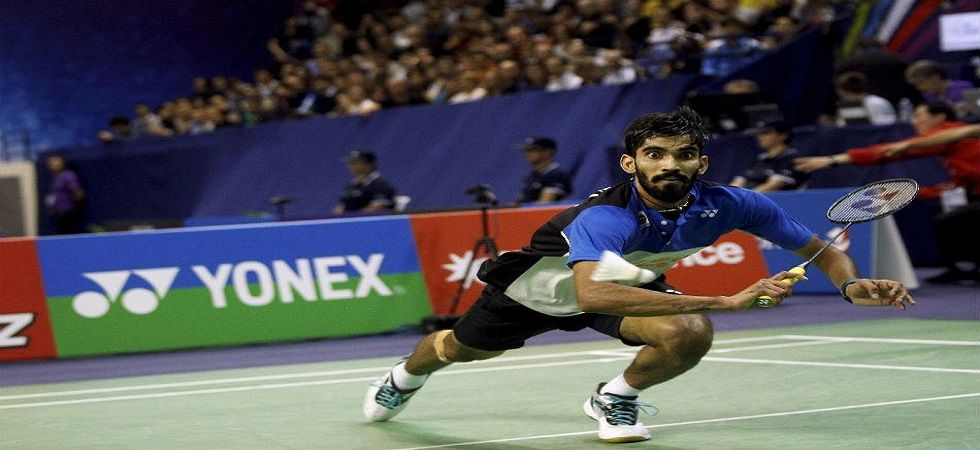 Kidambi Srikanth lost to Jonatan Christie in the quarterfinal of the Indonesia Masters badminton tournament. (Image credit: Twitter)