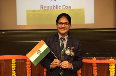 WATCH| Guinness Book of World record holder, Suchetha Satis who can sing in 102 languages sing for Republic Day
