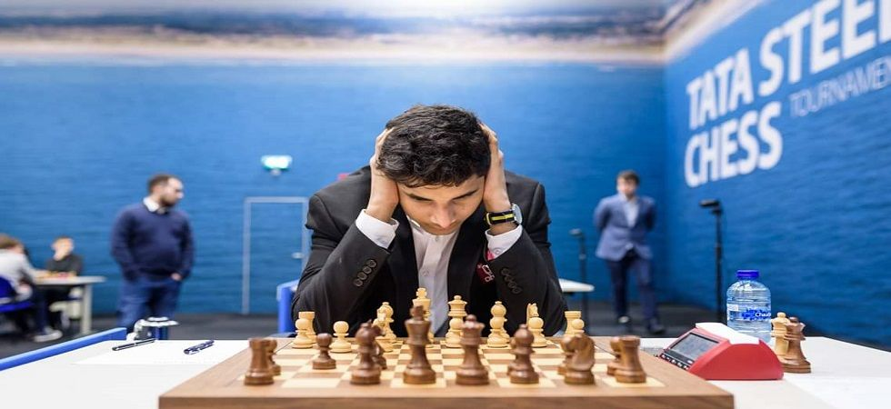 Vidit Gujrathi continued his good run in the Tata Steel Chess tournament as he defeated Shakhriyar Mamedyarov. (Image credit: Chessbase Twitter)