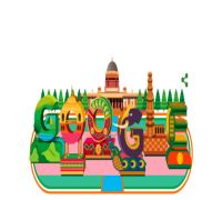 On India's 70th Republic Day, Google releases stunning doodle with Rashtrapati Bhavan