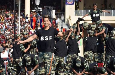 WATCH | Varun Dhawan celebrates Republic Day with BSF, delivers spectacular performance at India-Pakistan Border