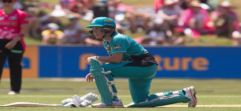 Beth Mooney overcame the heat, nausea and weakness to play a gutsy knock and guide Brisbane Heat to the Women's Big Bash League title. (Image credit: Cricket Australia Twitter)