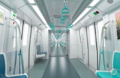 Noida Metro Aqua Line gets 11,625 riders on Day 1, real test on Monday