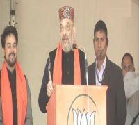 For Congress, OROP is 'One Rahul One Priyanka', says BJP chief Amit Shah in Himachal Pradesh's Una