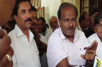 Karnataka CM HD Kumaraswamy threatens to quit, says Congress MLAs 'crossing the line'