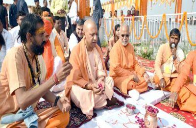 On banks of Sangam, Yogi Adityanath holds first-ever Uttar Pradesh Cabinet meet in Kumbh Mela