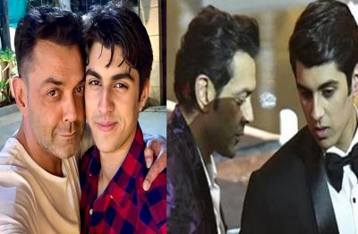 Internet can't stop gushing over Bobby Deol's handsome son Aryaman!