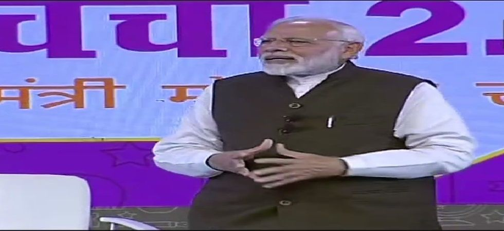 PM Modi had held his first such interaction with the students in February last year. (Photo: ANI)
