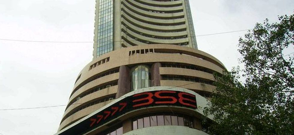 Sensex slips 64.20 points to end at 35,592.50 (file photo)