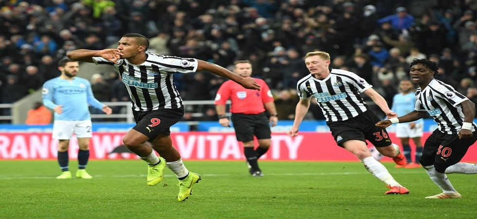 Newcastle United were boosted by goals from Salomon Rondon and Matt Ritchie helped them beat Manchester City. (Image credit: Twitter)