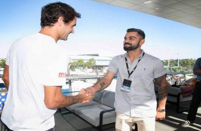 Wow, he remembers me – Virat Kohli on meeting Roger Federer in Australian Open