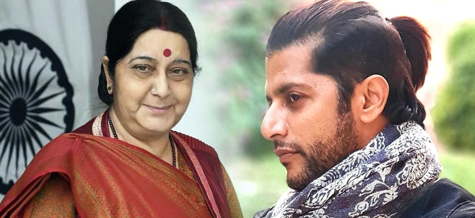 Karanvir thanked External Affairs Minister Sushma Swaraj for helping him get a temporary passport and a visa for Russia./ Image: Filephoto