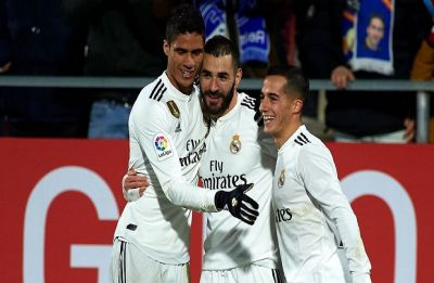 Karim Benzema boosts Real Madrid into semi-final of Copa del Rey with win over Girona