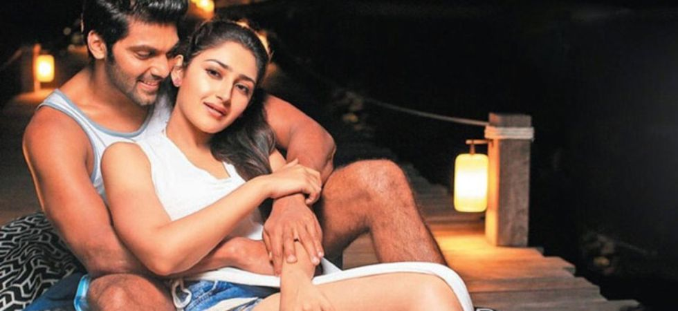 Sayyeshaa Saigal will reportedly marry Tamil actor Arya in March./ Image: Twitter