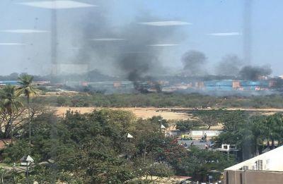 WATCH | Mirage fighter aircraft crash in Bengaluru, 2 pilots dead