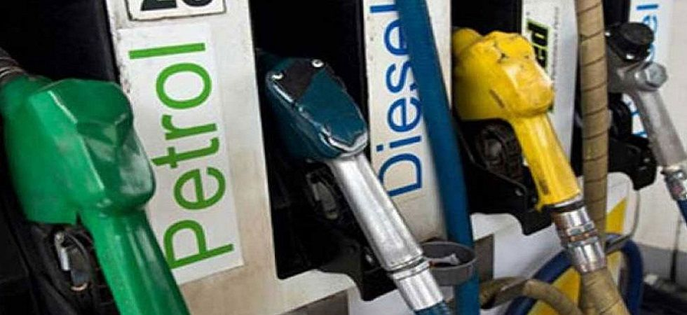 A litre of petrol in Kolkata cost Rs 73.04, while diesel cost Rs 67.49 a litre. (File petrol)