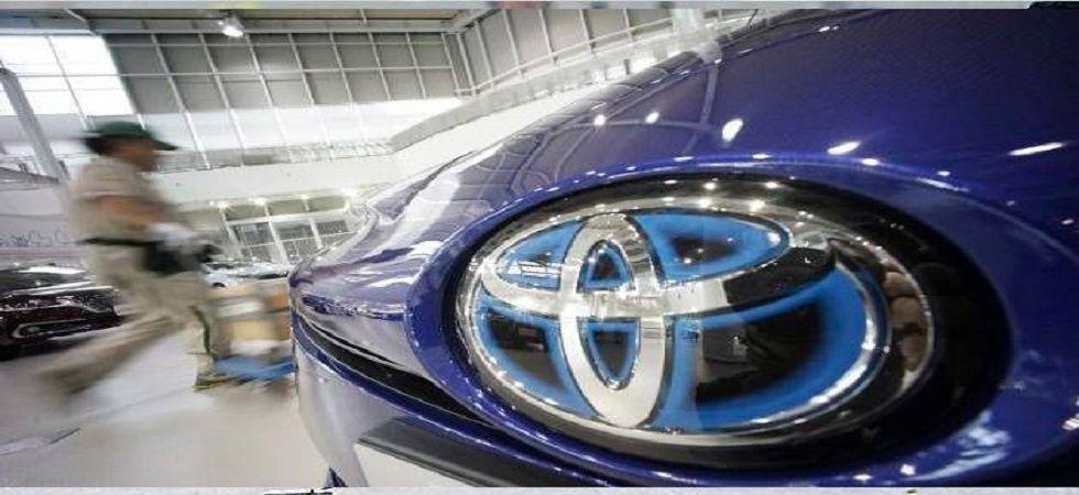 Toyota Kirloskar Motor sales drops by 9 per cent (file photo)