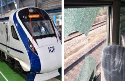 Train 18, India's fastest engine-less train, again attacked with stones during trial run