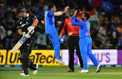 India vs New Zealand 5th ODI highlights: Rohit's side win match by 35 runs, clinch series 4-1