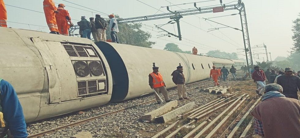 Three of the 11 coaches had capsized and seven people have lost their lives in the incident. (Photo: ANI)