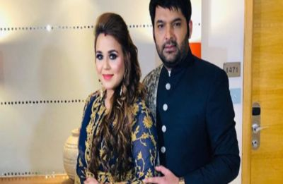 Kapil Sharma and Ginni Chatrath make for a royal couple at their Delhi wedding reception