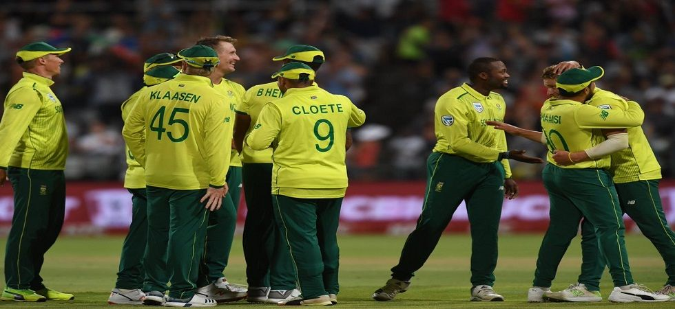 South Africa ended Pakistan's world record run of 11 consecutive series wins in Twenty20 Internationals as they lost the Johannesburg match by seven runs. (Image credit: Twitter)