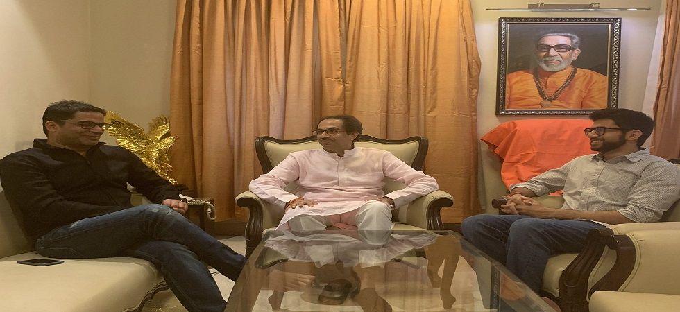 Prashant Kishor re-tweeted Shiv Sena youth wing president Aditya Thackeray's tweet welcoming him at their residence