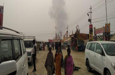 Kumbh Mela 2019: UP Chief Minister Yogi Adityanath's pandal catches fire in Prayagraj