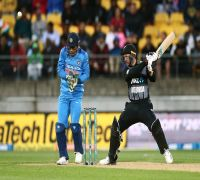 New Zealand shatters records with big total in Wellington T20I against India