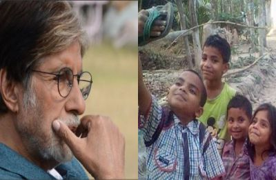Amitabh Bachchan gets massively trolled for calling viral picture of children taking selfie with slipper 'photoshopped'