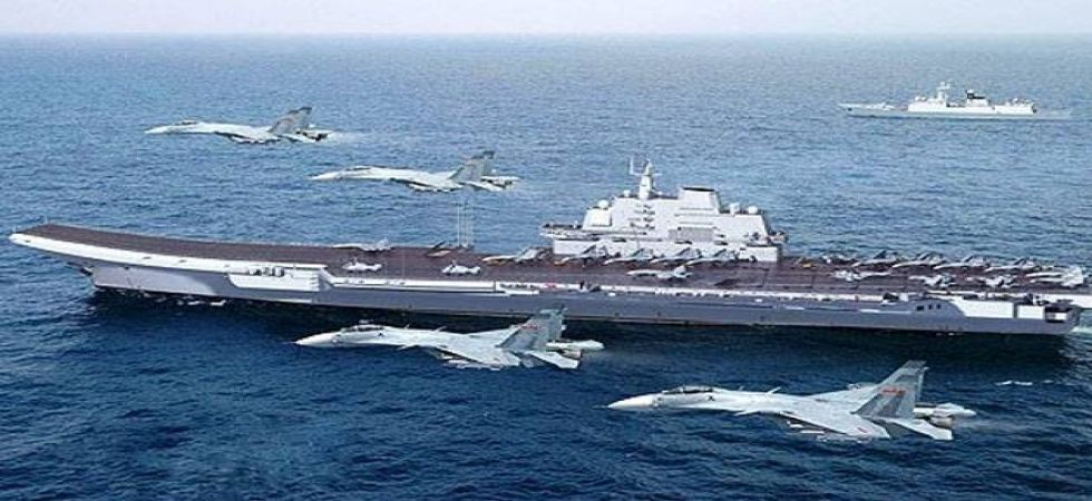 China currently has one aircraft carrier in service - the Liaoning, which was commissioned in 2012. (File photo)