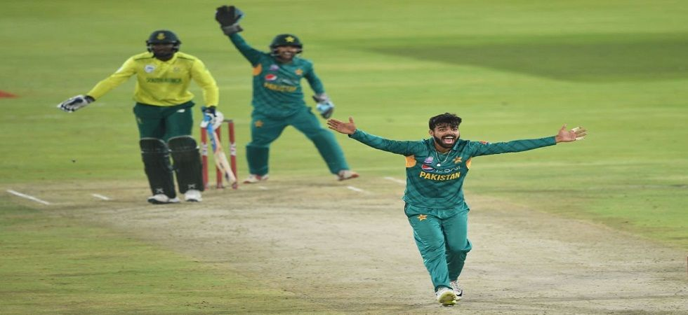 Shadab Khan won the Man of the Match for his all-round exploits which gave Pakistan a win over South Africa in Centurion. (Image credit: ICC Twitter)