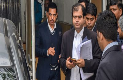 Robert Vadra leaves ED office after over 8 hours of grilling in money laundering case