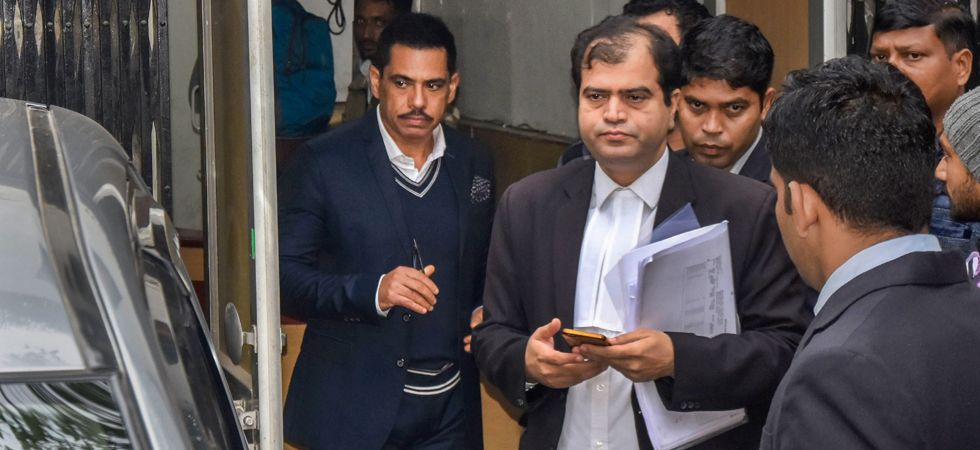 It was Vadra's first appearance before any probe agency in connection with alleged criminal charges of dubious financial dealings. (Image Credit: IANS)