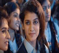 Priya Prakash Varrier does it again, her liplock scene is breaking the internet