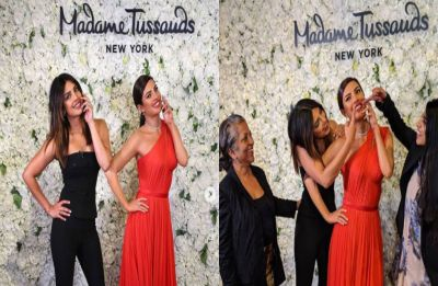 Watch: Priyanka Chopra's reaction on getting a wax statue in New York is unmissable!