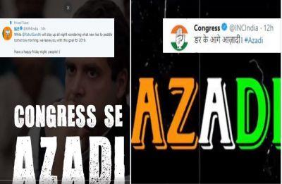 In Congress vs BJP, Gully Boy's 'Bolo Azadi' parody becomes new war anthem on Twitter