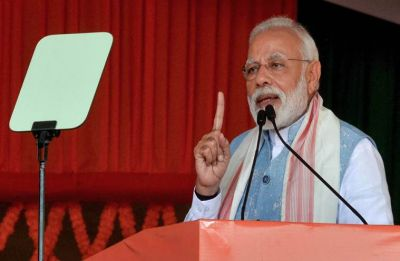 Seems 'mahamilawatwalas' in Olympic competition to abuse me, says Modi in Tripura