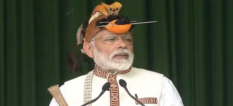 From Itanagar, PM Modi is scheduled to visit Assam and Tripura. (Image Credit: Twitter)