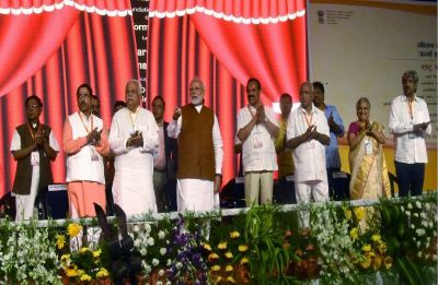 Kumaraswamy 'a punching bag for all', difficult to figure out who is in charge of state: PM Modi in Karnataka