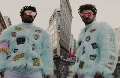 Check out Ranveer Singh's quirky customised fur jacket, a real head-turner