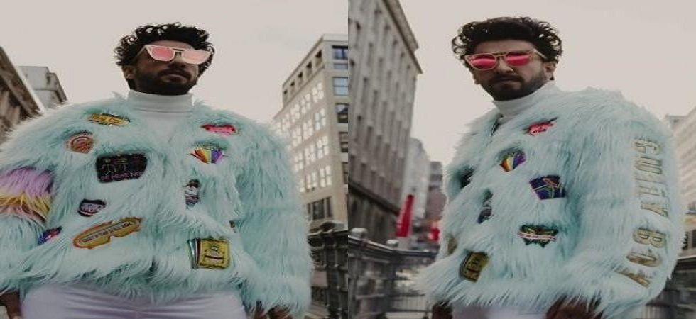 Ace celebrity designer Manish Arora has customised this jacket, especially for Ranveer. (Photos: Instagram)