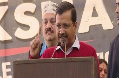 Modi acts like PM of Pakistan: Arvind Kejriwal at Chandrababu Naidu's fast in New Delhi
