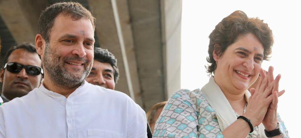 Priyanka Gandhi Vadra reaches Lucknow along with Congress president Rahul Gandhi (File Photo)
