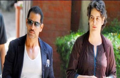 After Lucknow road show, Priyanka Gandhi visits Jaipur to meet Robert Vadra