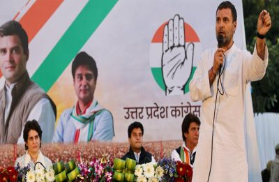 Priyanka Gandhi by his side in Lucknow, Rahul Gandhi says Congress govt will be back in UP