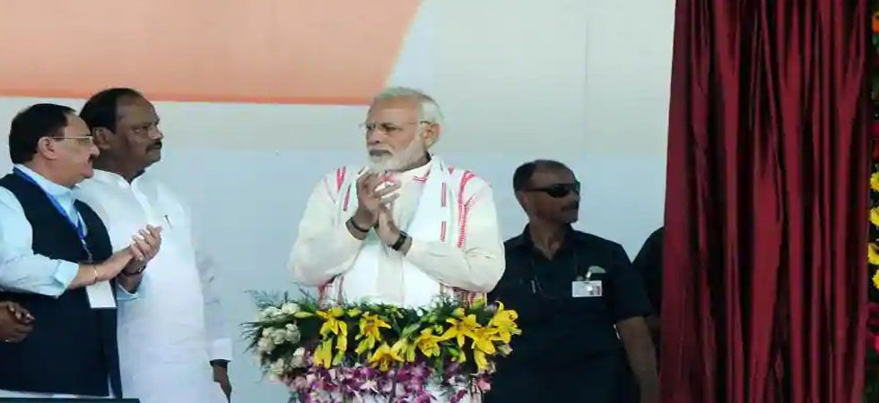 Earlier, PM Modi laid foundation stone of Medical Colleges at Chaibasa and Koderma in the capital of Jharkhand.