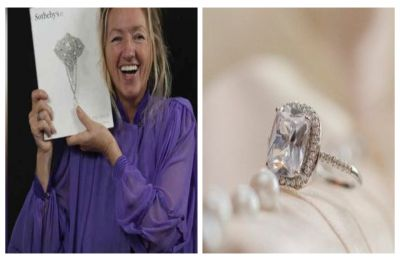 Charity worker buys glass ring for Rs 920 from a boot sale, finds out it was worth Rs 6.8 crore!