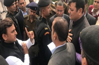 In Akhilesh vs Yogi, 'bombs' at Allahabad University intensify 'detention' drama